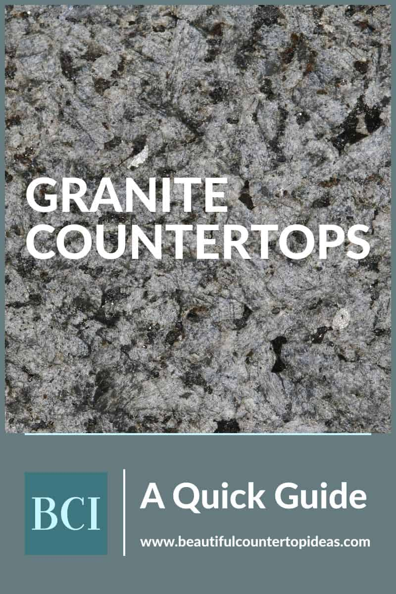 Granite countertops are a classic and timeless material for the home. Learn more about the beautiful and stunning material in this quick guide.