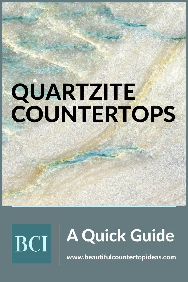 Quartzite countertops are a hot trend for the kitchen and bath. Find out about this beautiful alternative to granite and quartz in this quick guide.